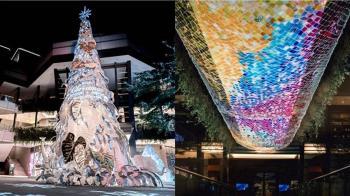 17米高雪白聖誕樹降臨!500場飄雪光雕秀 信義區變身奇幻王國