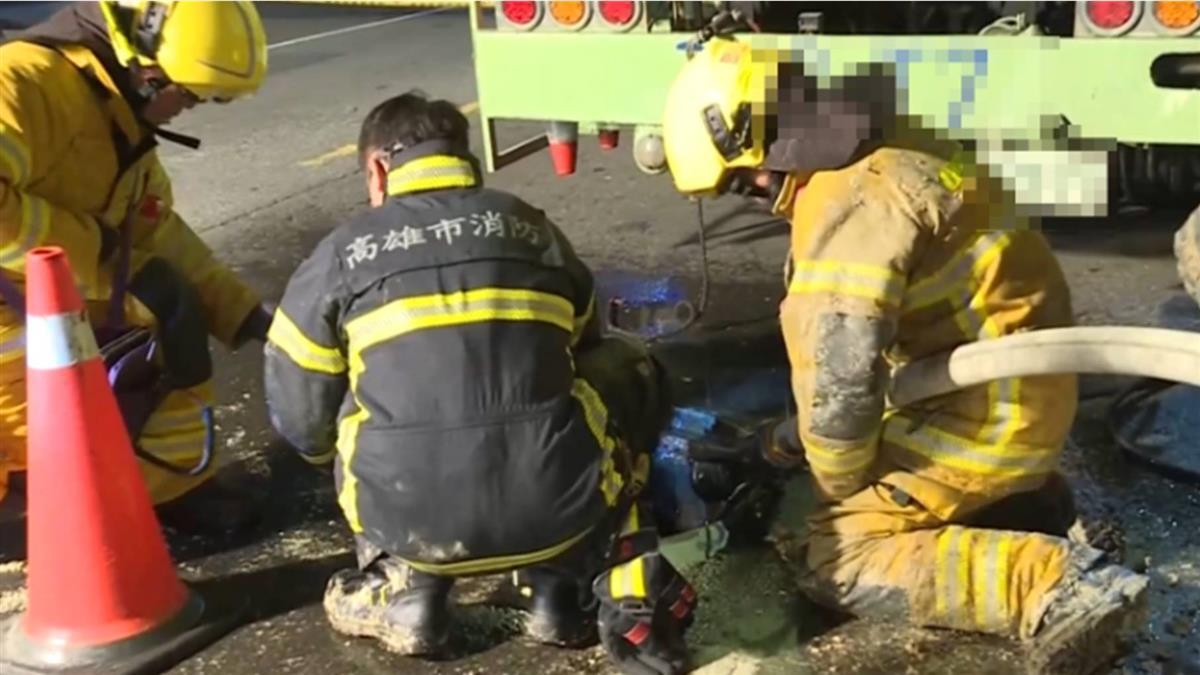 下水道工人2死  高市勞檢:未通風及偵氣將裁罰