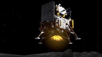 中國嫦娥五號探測器著陸月球