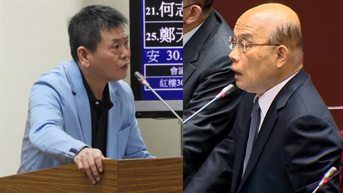 信功案惹議 國民黨團將舉發蘇貞昌散播假消息