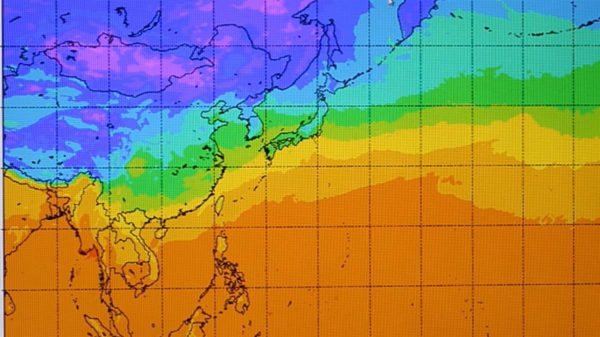 今年是冷冬!李富城曝高壓狀態示警:比往年更冷