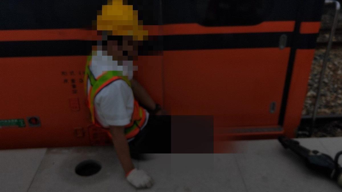 快訊/屏東南州火車站意外!台鐵人員跌落月台 下秒列車進站慘遭夾