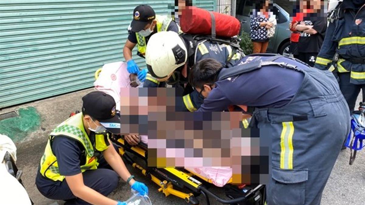 台中驚傳縱火案!65歲男屋主疑放火燒妻 雙雙送醫命危
