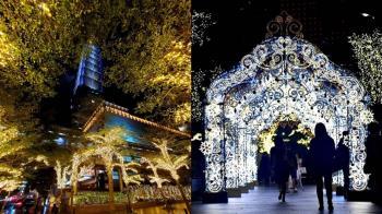 台北101舉辦閃耀聖誕趴!11打卡點浪漫登場 加碼黑五購物優惠
