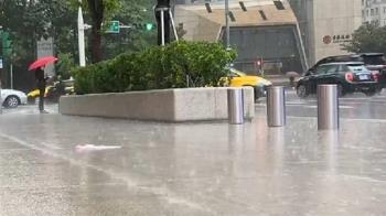 北北基宜豪、大雨特報 擎天崗降雨百毫米
