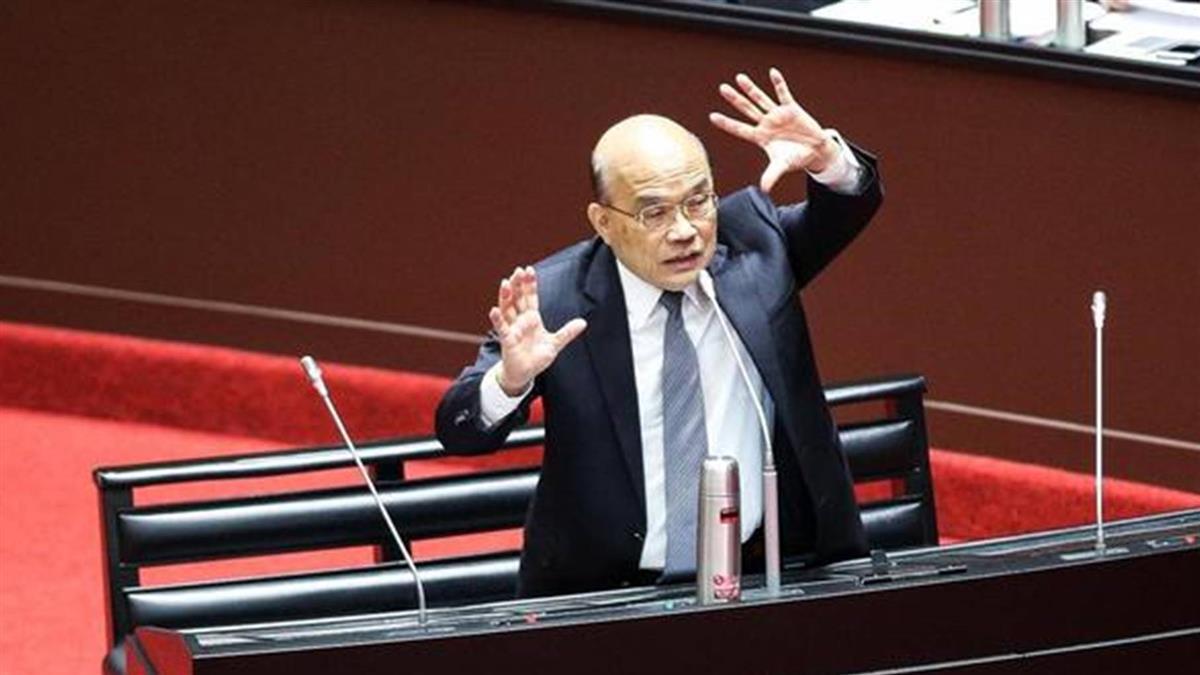 總統民選後任期最長閣揆 蘇貞昌再創紀錄