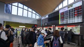 台鐵往東部路線中斷!2萬名旅客遭影響