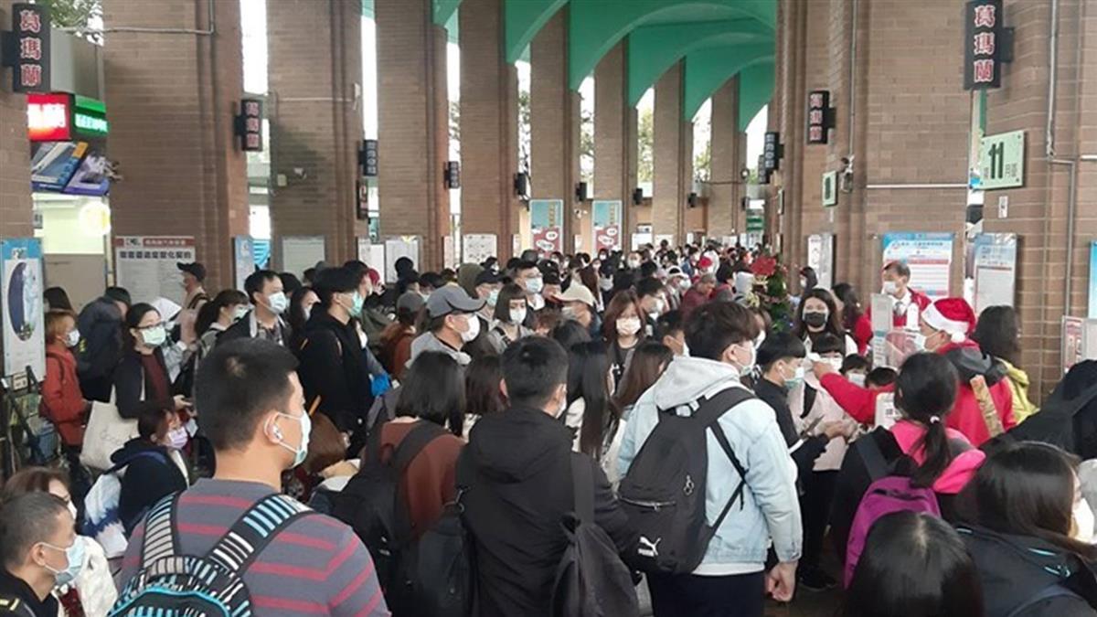 往宜花東鐵路中斷 國道客運連2日加開逾千班次