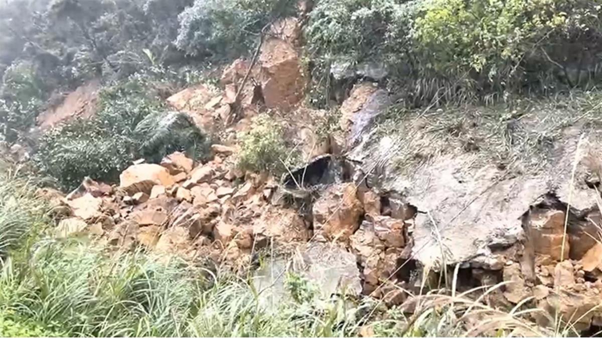 猴硐崩山前示警擋災 資深司機員:壁噴漿裂開