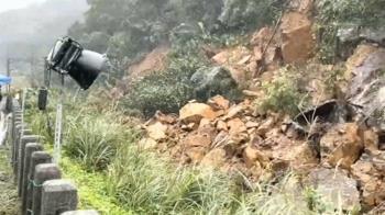 猴硐山崩前瞥「壁噴漿裂」 資深司機急煞救600乘客