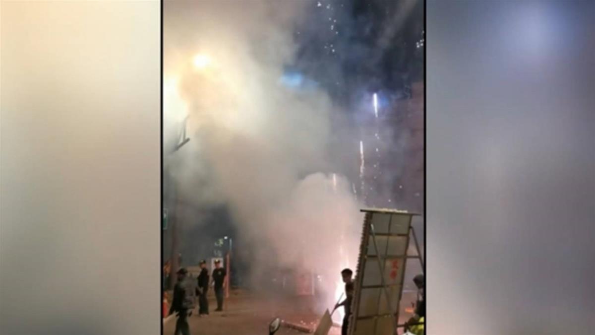 青山宮遶境3天3夜狂放炮1999被打爆 民眾投訴:總統可能睡得香甜