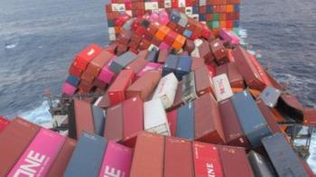 1816貨櫃落海!內裝電池危險物 日本貨輪太平洋急返航