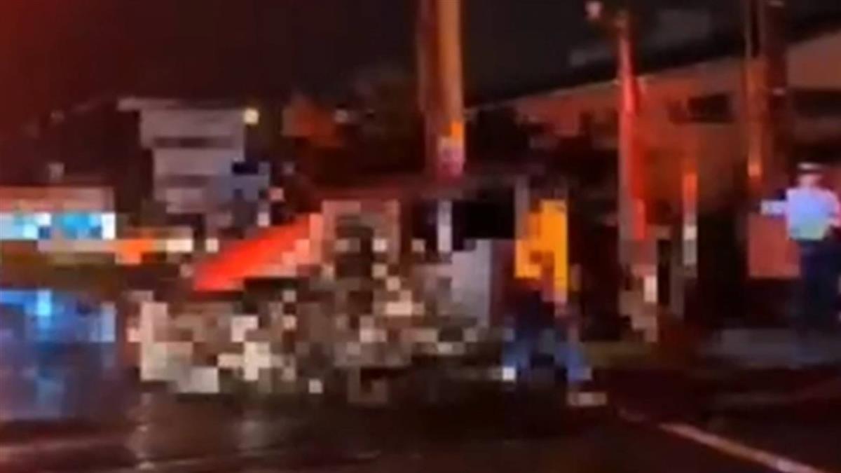 小客車闖平交道遭撞 台鐵冬山羅東間暫單線行車