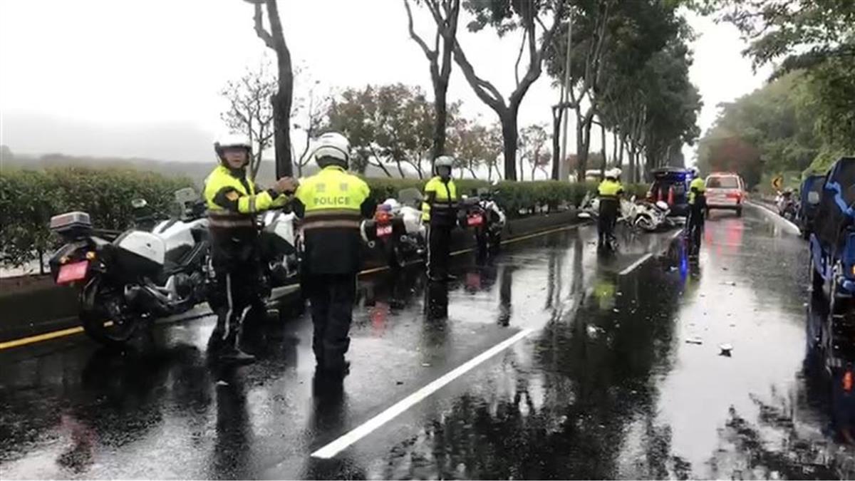 南投交通隊重機訓練傳意外!小隊長下雨打滑自撞死亡