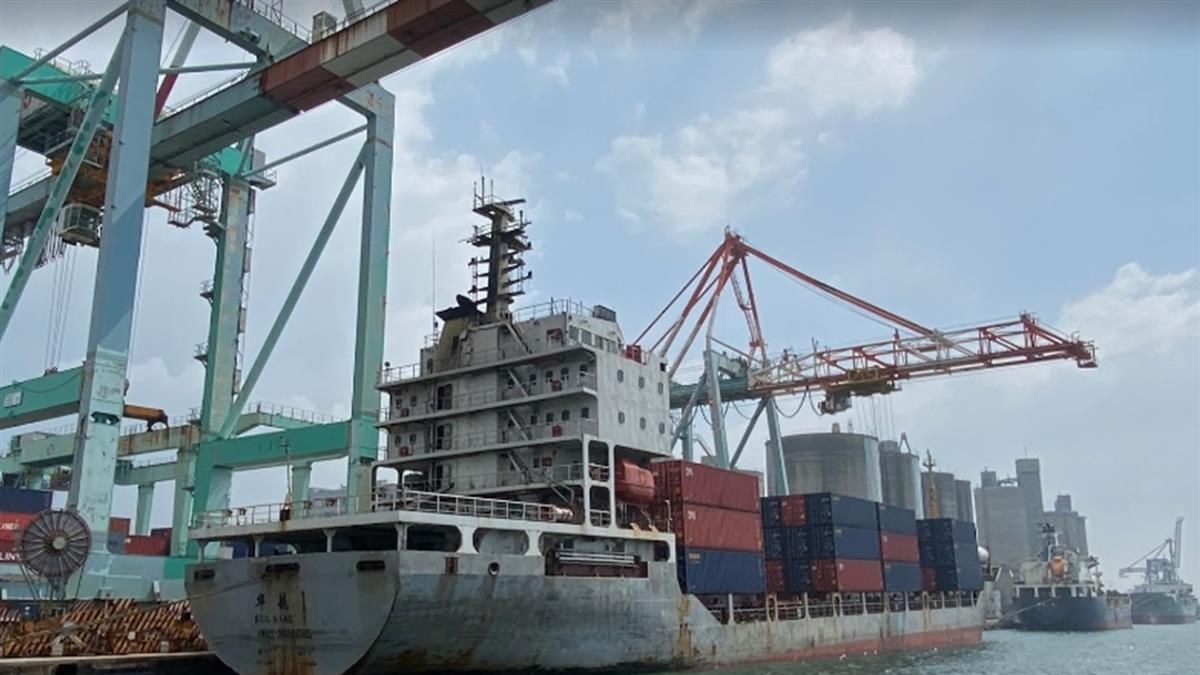 高雄港口兩貨輪傳對撞!現場無人員受傷