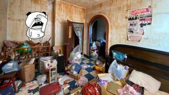 20年租客突消失!他開門「黃色牆壁+垃圾山」傻眼