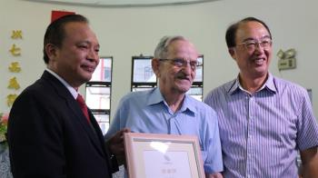 小兒麻痺之父羅文思神父病逝 享壽84歲