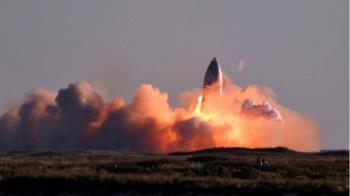 SpaceX星艦試飛降落墜毀爆炸 馬斯克卻感到滿意
