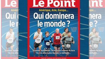 小英登法週刊封面!與4大強國領袖並列:誰將主宰世界