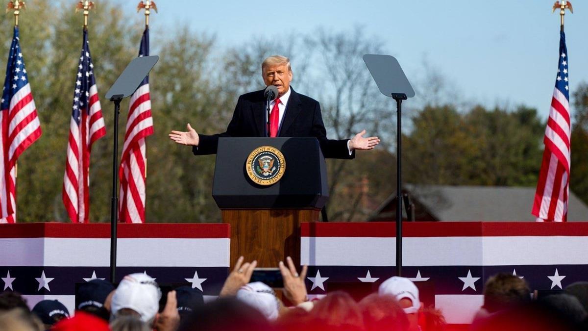 外媒爆料:川普打算於拜登就職日宣布參選2024