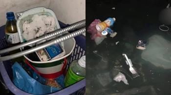 排泄物、廚餘扔蓄水池!住戶喝2月汙水氣瘋 碩士生下場出爐