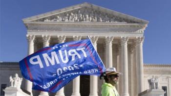 美國大選:最高法院駁回法律訴訟 川普挑戰努力遭重挫