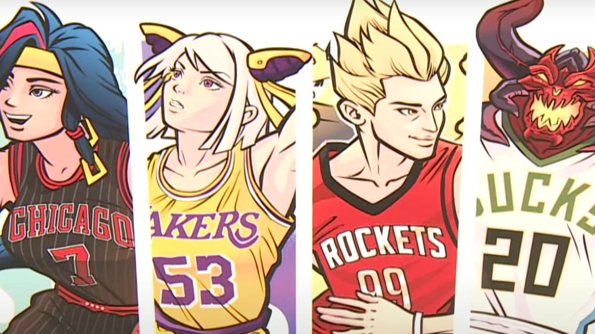 「傳說對決」周邊商品夯 聯名NBA潮流穿搭