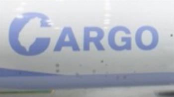 華航機身藏「台灣」 首架777F貨機彩繪機身曝光