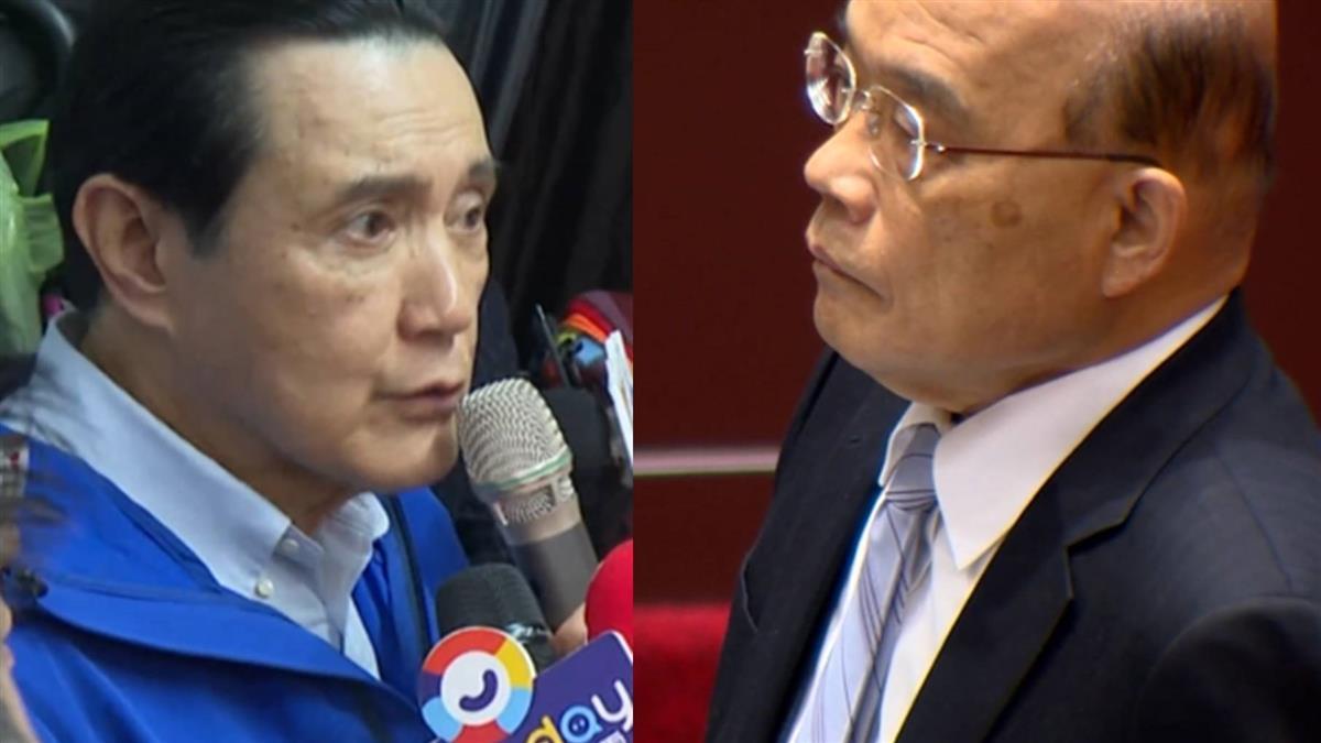 藍委問「有誰贊成萊豬來台」蘇貞昌乾愣5秒鐘