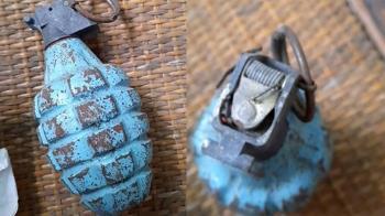 少將爺爺珍藏遺物 家人驚見「手榴彈」藏茶葉罐