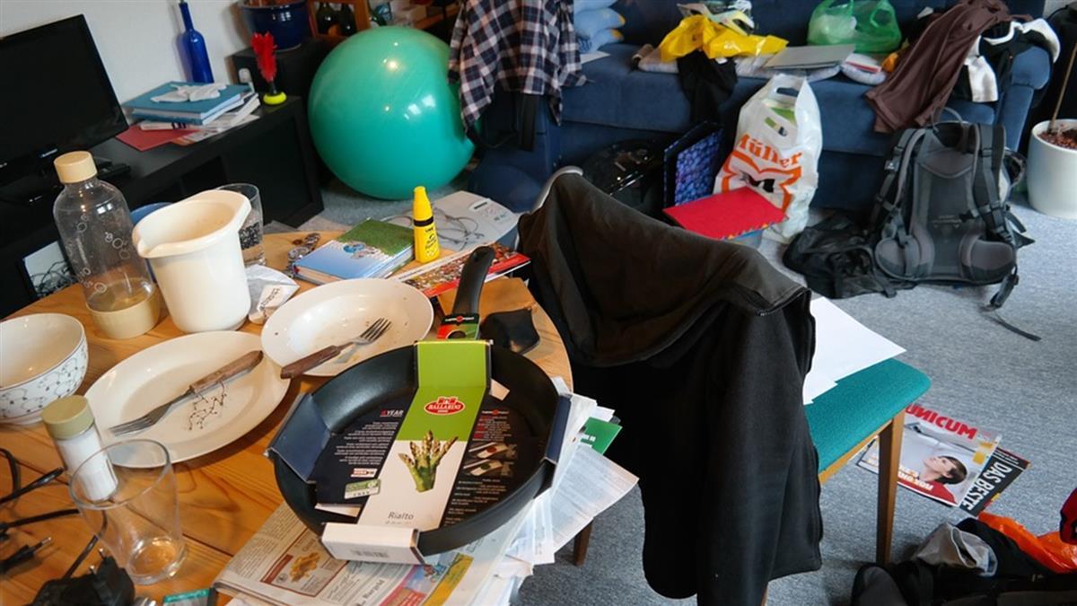 女神級藝人被爆超髒亂!廚房垃圾堆到天花板 房間便當丟滿地
