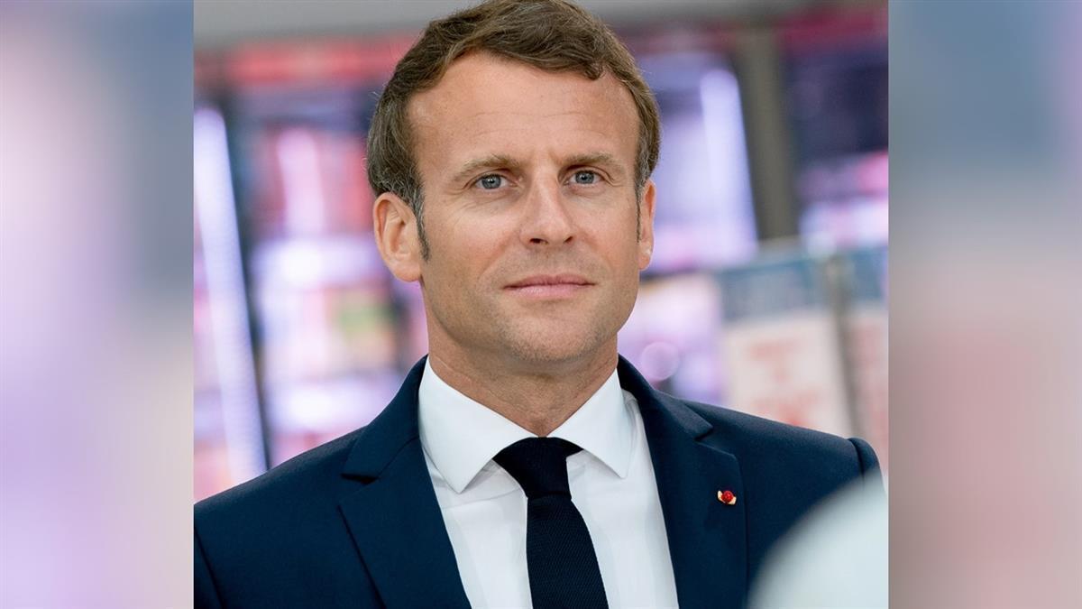 法國總統馬克宏確診武肺 宣布自我隔離7天