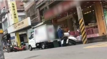 獨/麵包送貨車「違停」卸貨遮車牌 老闆:月接20張罰單