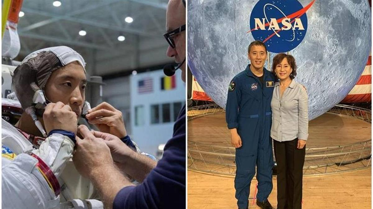 首位韩裔太空人将登月 哈佛、特种部队超狂背景曝光(photo:EBCTW)