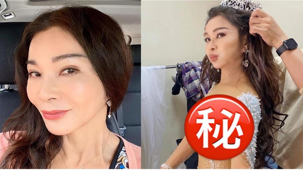 64歲陳美鳳透視水鑽禮服「只遮三點」 網見真實身材噴鼻血