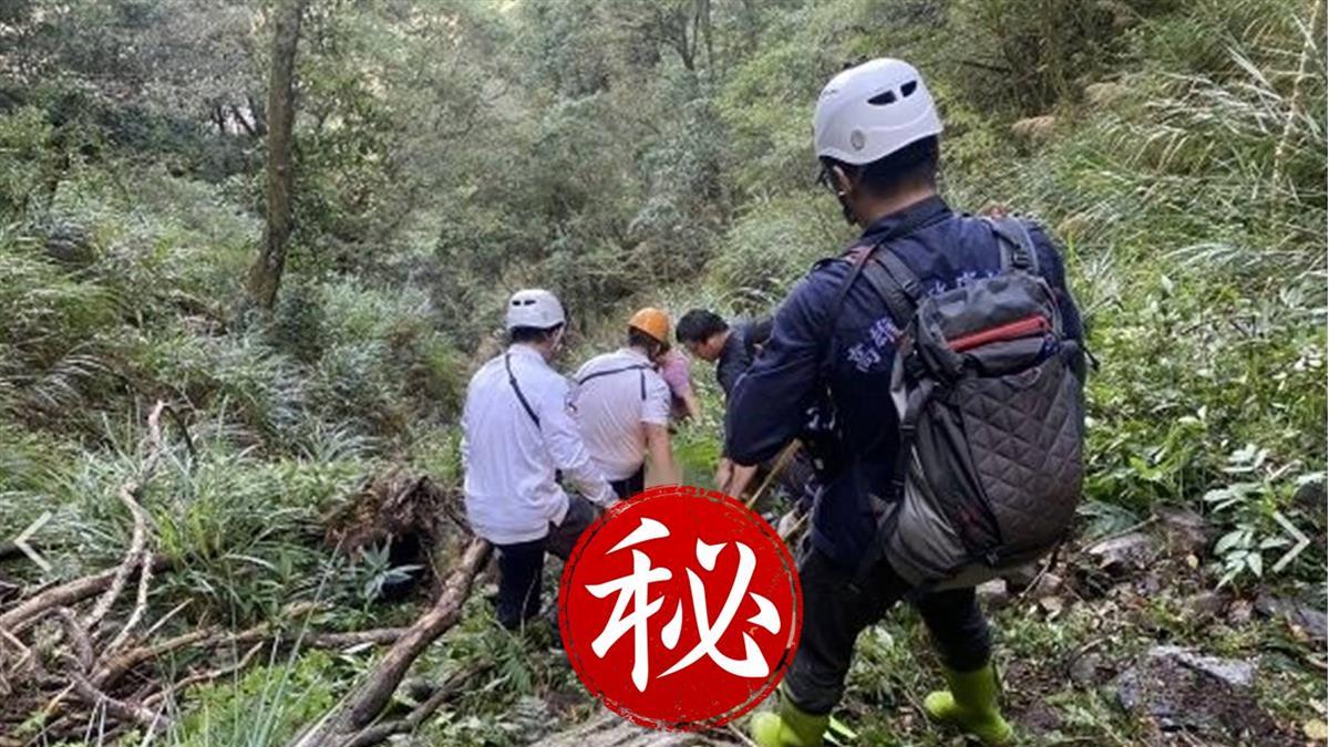 快訊/高雄南橫天池山難!70歲婦墜谷撞石塊 頭部重創亡