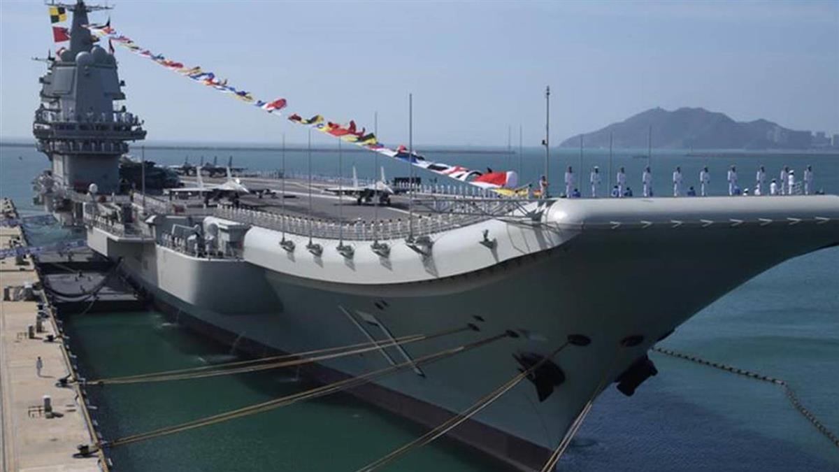 山東艦昨通過台灣海峽 國防部研判赴南海演訓