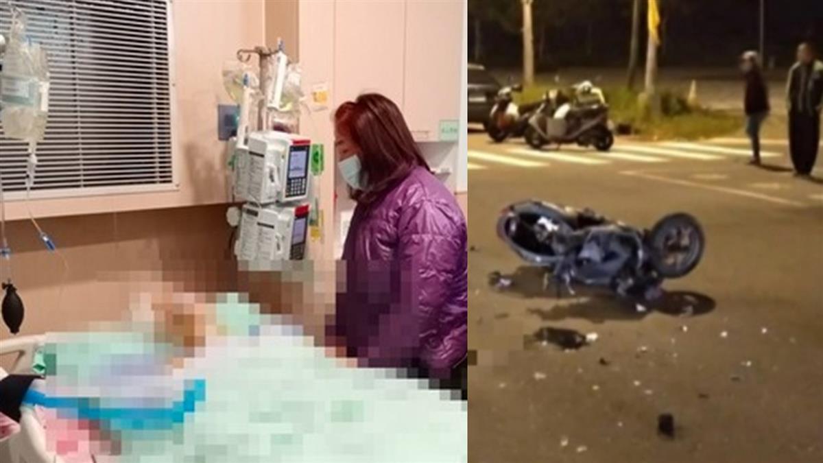 護理師遭酒駕男撞飛命危!與死神搶命21天 家屬忍痛拔管