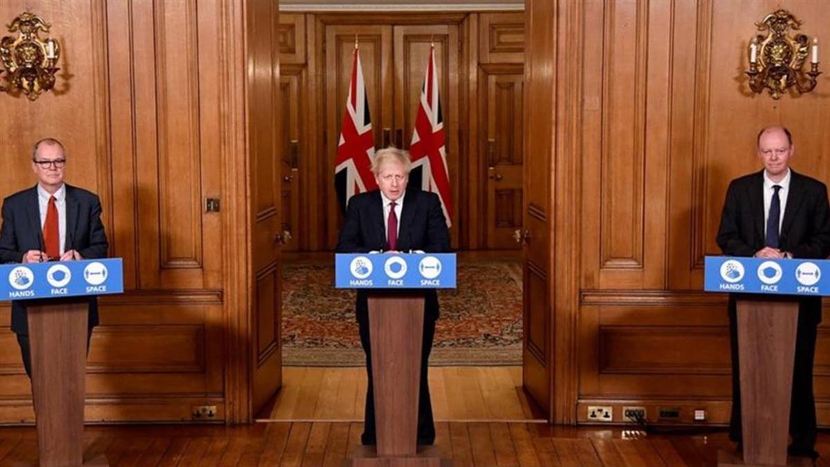 英國和歐洲新冠疫情大反撲 各國聖誕節忙防疫