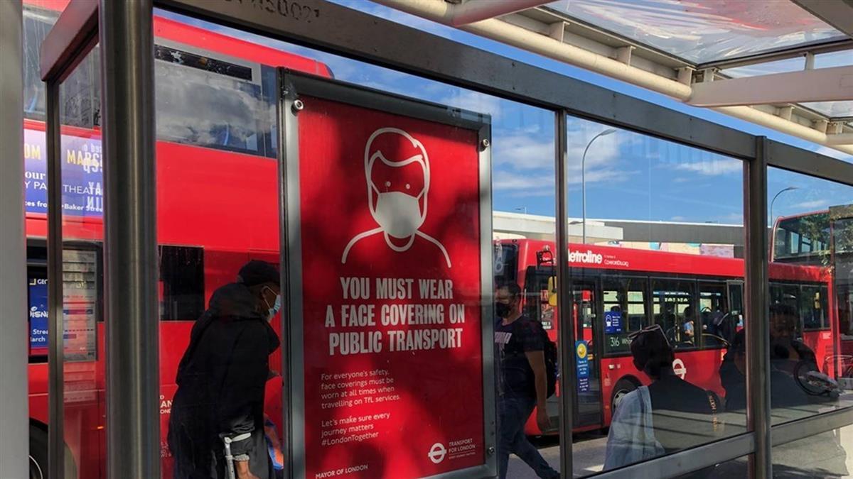 倫敦變種病毒9月就現蹤 近2/3新增確診全是新病毒
