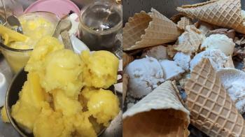 兒冰店亂搞「冰全報廢」 媽聽賠一半抓狂:我們都吃自助餐