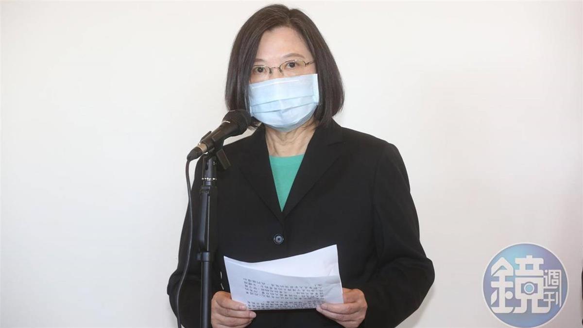 國際疫情嚴峻迎第二波感染 蔡英文:防疫是長期抗戰