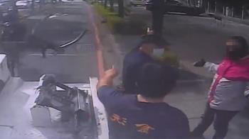 獨/嫌開太慢!外送員按喇叭逼車 下秒反遭警方壓制
