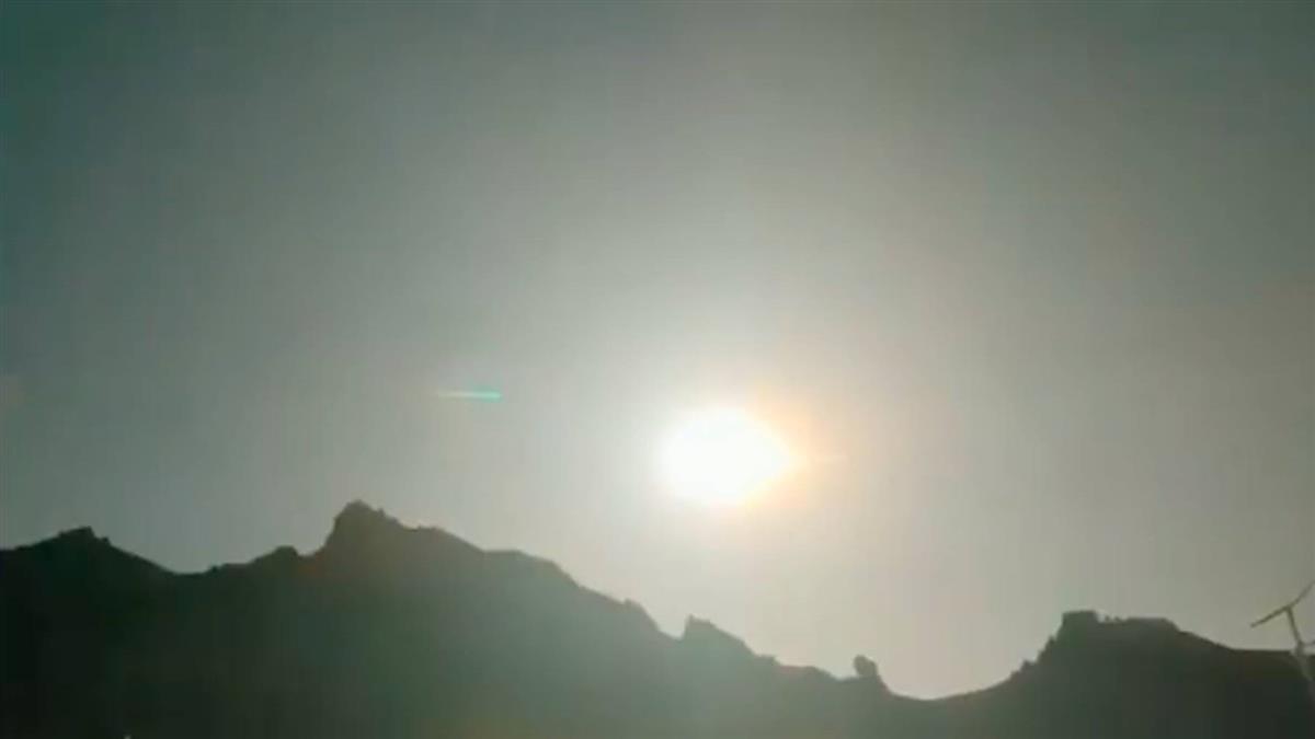 轟!超巨火球墜落青海 黑夜瞬間變白晝