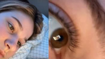女友躺床猛滑手機 他靠「瞳孔反射」抓包出軌