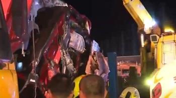 消防員車禍失能 妻出庭和拖板車業者大吵