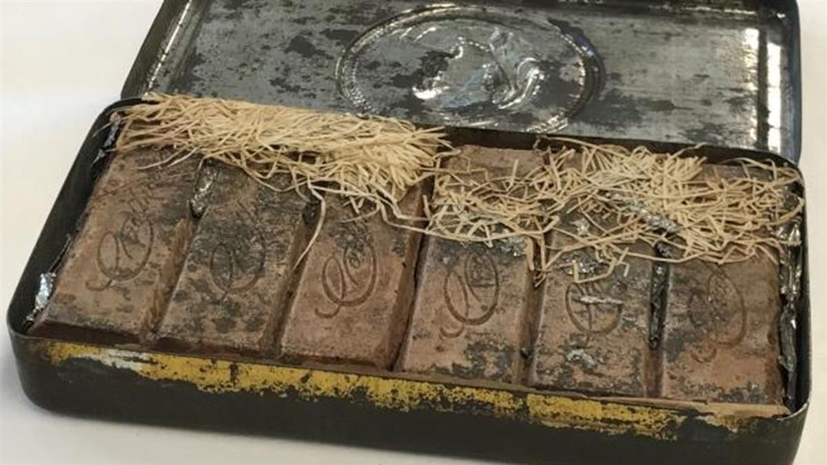 120年前「骨灰級」巧克力竟沒壞 一開散發奇妙香味