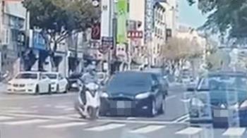 台南男騎士「鬼切左轉」遭撞噴飛5公尺 重摔落地倒血泊慘死