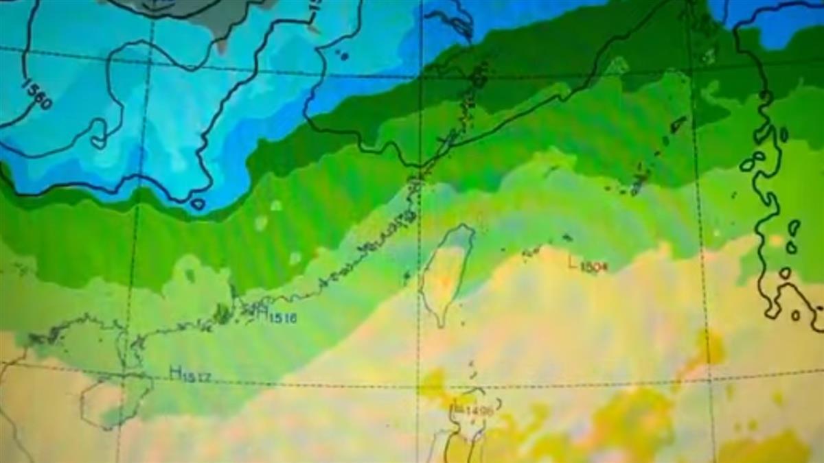 「負北極震盪」發威體感-1度 20秒寒潮爆發震撼影片曝