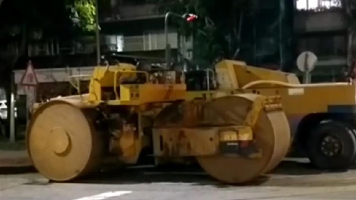 台中61歲工人遭酒駕壓路機輾過 全身骨折倒血泊慘死